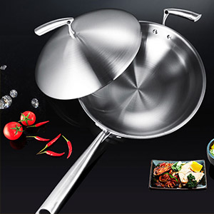 Triply copper cookware